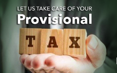 Provisional tax due shortly